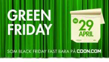 CDON.COM lanserar Green Friday