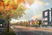 Byleden i Järfälla blir stadsgata med 400 bostäder
