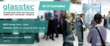 NSG Group ställer ut på Glasstec 2016 i Düsseldorf