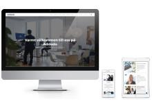 Ny webbplats för Addedo