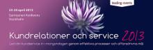 Träffa QuestBack på Kundrelationer och service 2013!