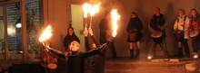 Över 100 personer deltog i Earth hour på Vänermuseet