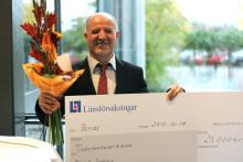 Länsförsäkringar i Älvsborg finansierar stipendier till högskolans studenter