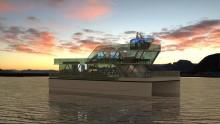 Катамаран будущего построили в Норвегии