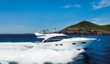 Princess Motor Yacht Sales: Stunning Princess 43 Flybridge Heralds Opening of German Dealership