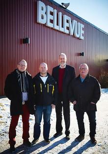 Minskad energianvändning  hos Bellevuestadion i Västerås.