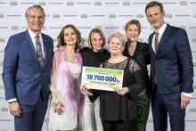 Postkodlotteriet stöttar Plan International Sveriges arbete med 18,7 miljoner kronor