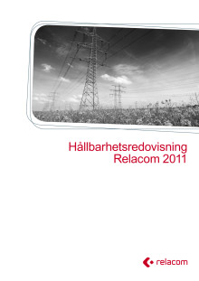 Relacoms hållbarhetsredovisnig 2011