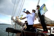 Havskampen styr kursen mot Kalmar för att stödja Ung Cancer. Skutan lägger an 13 augusti 10.00!