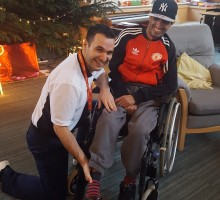 ellenor's mobile physiotherapist ensures patients facing terminal illness live life to the full