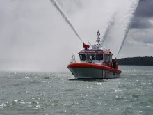 Fischer Panda UK Supplies Air Conditioning, Electrical and Switching Systems for New-Generation Fire-Fighting Vessel