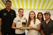 Raymarine: Teamwork rewarded with 2018 Round the Island Race Young Sailor Trophy