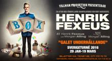 På fredag den 29 januari är det turnépremiär för Henrik Fexeus hyllade föreställning BOX