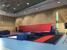 Välkommen på invigning av gymnastikhallen i Huskvarna