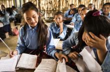 Trygga skolor i fokus två år efter jordbävningen i Nepal