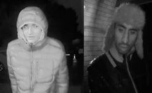 Images of men released following attempted burglary in Yateley