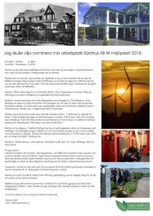 Nominering miljöpriset