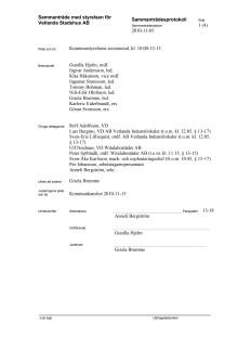 Stryrelseprotokoll Vetlanda+Stadshus+AB+2010-11-05
