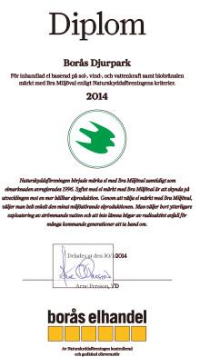 Borås Djurpark köper grön el