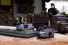 En revolution inden for  batteriteknologi: RYOBI's nye  Lithium+ High Energy batterier.