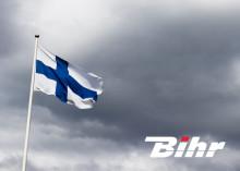 Bihr varvar upp i Finland