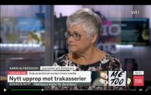 Karin Alfredsson om #deadline i SVT:s Morgonstudion