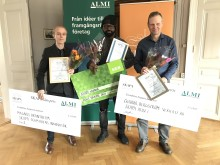 Certifikatportal och hjärnträningsverktyg vann SKAPA-priset, salongägare blev Årets Nybyggare 2017 i Jämtlands län