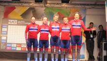 Ikke helt dagen for de norske damene i VM fellesstarten