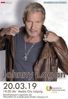 Exklusives Benefizkonzert: Johnny Logan singt zugunsten der Elternhilfe