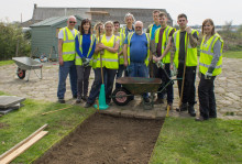 ​RAF and Moray's Greenfingers build a path to sales success