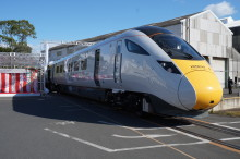 Hitachi Unveils Train for the UK Intercity Express Programme