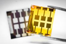 Dubbla perovskiter i framtidens miljövänliga solceller