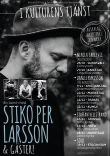 I kulturens tjänst - En turné med Stiko Per Larsson & gäster!