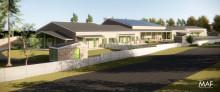 Hållbarhet och innovativa energilösningar – byggstenar i ny förskola i Piteå