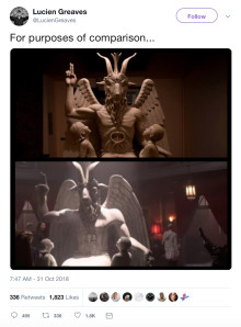 Evil triumphs as The Satanic Temple wins Netflix settlement
