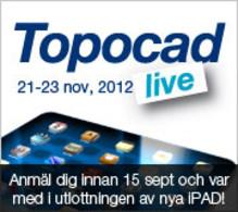 Varmt välkommen till Topocad Live 2012!