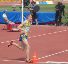 Gemlalöparen Fredrik Johansson till final på Universiaden i Kazan – studentidrottens motsvarighet till ett olympiskt spel