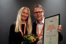 Stena Line och Mercy Ships prisat för årets Företagssamarbete
