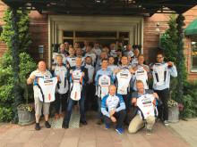 Lørdag 12 august syklet Team FM Mattsson Mora Group Norge CykelVasan