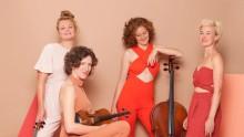 Energiska konserter med Ragazze Quartet