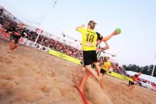 Weblink ny titelsponsor för Åhus Beachhandbolls Elitklass