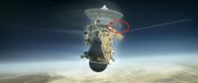 Svenskt instrument följer med när rymdsonden Cassini åker in i Saturnus gasmassor