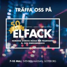 Fresh AB visar världsnyhet på Elfack 7-10 maj