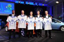 TEAM HYUNDAI fotbollsspelare blir Hyundai ambassadörer