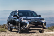 Mitsubishi Outlander PHEV kåret til Årets grønne SUV 2019