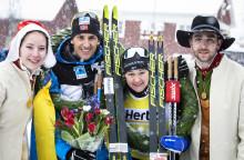 Tore Björset Berdal and Britta Johansson Norgren won Vasaloppet 2019