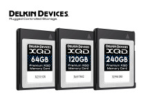 Delkin lanserar XQD-kort med maxad prestanda