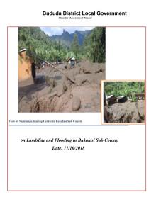 Bukalasi Disaster Assessment Report
