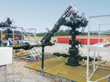 Rotork electric actuators powered by solar panels on US gas production wells