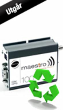 Maestro 100 serien utgår ur sortimentet och ersätts med Maestro Heritage
